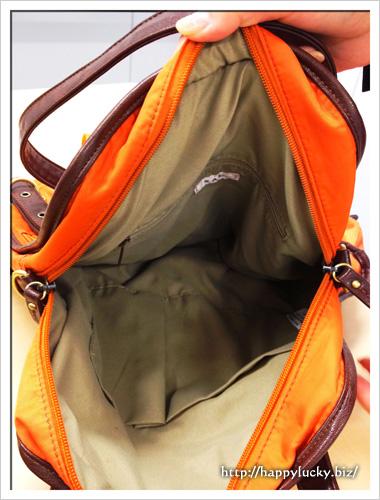 サック(SAC)多機能3WAYバッグ「ルナトリ」内側にポケット♪