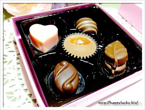 メリーチョコレート グレイシャス ファンシーチョコレート 中身