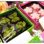 京都 北山 マールブランシュ「お濃茶クランチ・桜のマカロン」