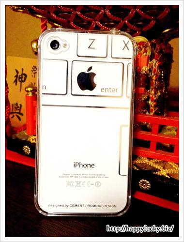 iPhone4/4s用ケース「iTattoo」Keybord