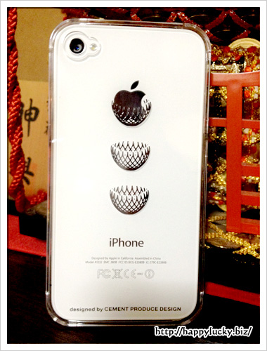 iPhone4/4s用ケース「Dress it」Keybord