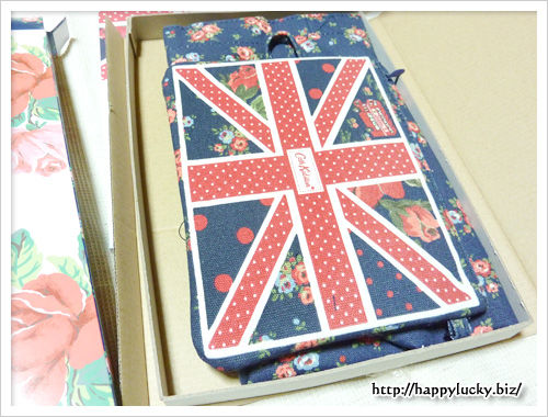 Cath Kidston SPECIAL BRITISH ISSUE Spring Summer 2012 付録はこんなかんじで入っている