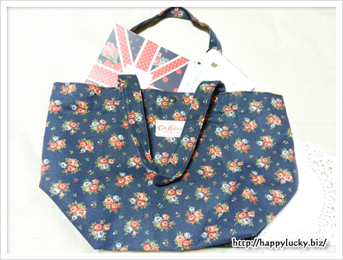 Cath Kidston SPECIAL BRITISH ISSUE Spring Summer 2012 バッグは冊子も入る
