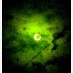 天体観測「金環日食」見れたどー!iPhone4Sで写真撮ったどー!