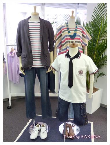 ニッセン東京プレスルームの展示