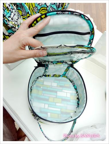Hatbox Cosmetic ハットボックス・コスメティック バッグの中