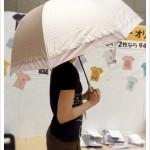 【紫外線・暑さ対策】昨年1万2千本売れた!ベルメゾンで人気の「晴雨兼用UV日傘」