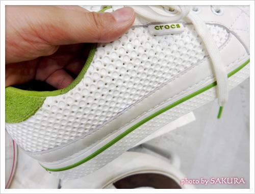 靴のサイド