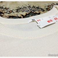 CanCam(キャンキャン)×UNIQLO(ユニクロ)コラボ ラウンドネックチュニック(長袖) 襟ぐり