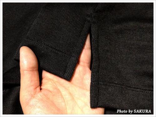CanCam(キャンキャン)×UNIQLO(ユニクロ)コラボ Vネックチュニック(長袖)裾