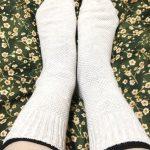 冷房で足が冷える!でも靴下を脱ぎたい・・・。冷房対策の冷え取りアイテムを購入しました。