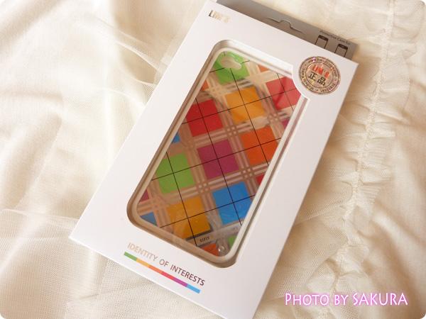 日本未発売のLIM'S正規品「iPhone4S レインボーケース Final Edition」外箱