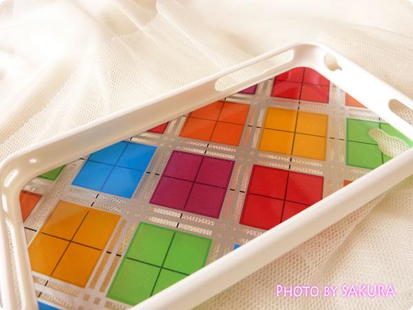 日本未発売のLIM'S正規品「iPhone4S レインボーケース Final Edition」ケース内側