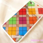 透け感のあるレインボーカラーが可愛い日本未発売のLIM'S正規品「iPhone4S レインボーケース Final Edition ノーブルタイプ」