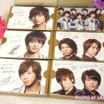 Kis‐My‐Ft2 セブンカラーズチョコレート (1ケース6個入) 『キスマイからの メッセージカード(全6種)』