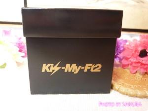 Kis‐My‐Ft2 セブンビーンズチョコレート (1ケース6個入) 外箱 サイド