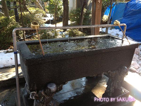 西新井大師(總持寺) 手水舎