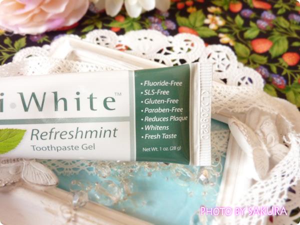 Now Foods, XyliWhite Toothpaste Gel, Refreshmint, Fluoride-Free, 1 oz (28 g) 何がフリーかの表示