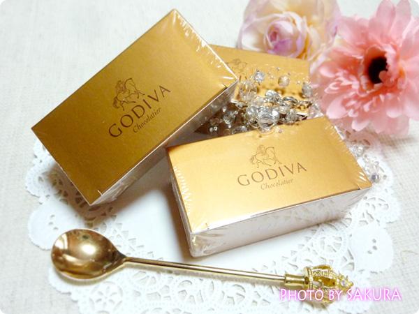 GODIVA(ゴディバ)ゴールドコレクション「ミニバロティン」外箱