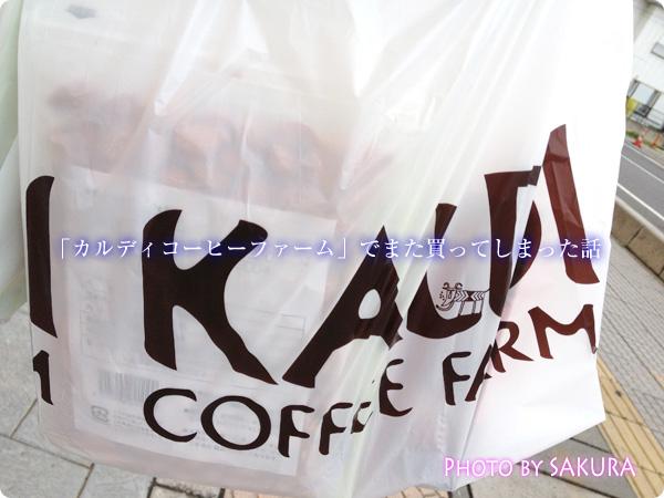 カルディコーヒーファームでお買い物!