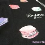 [UT]ユニクロ×LADURÉE(ラデュレ)コラボ・エッフェル塔とマカロン柄が可愛いTシャツ