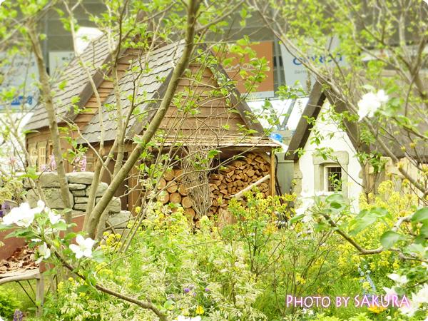 「ターシャ・テューダーの庭」家の展示