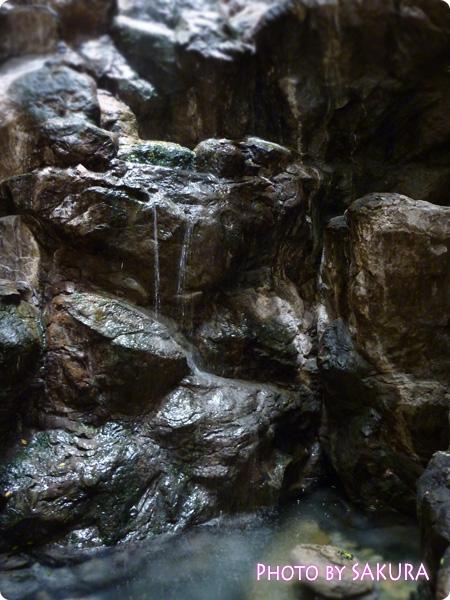 店内の『出逢いの滝』