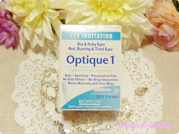 Boiron, Optique 1, 20 Doses, 0.013 fl oz Each 箱