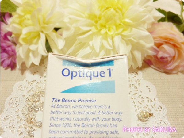 Boiron, Optique 1, 20 Doses, 0.013 fl oz Each 外箱が少し潰れてた
