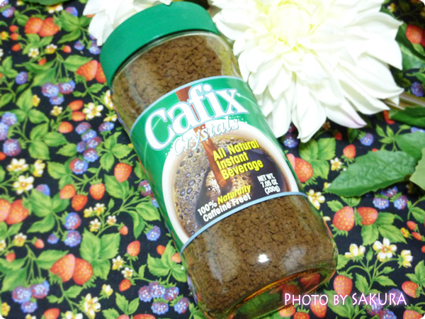 Cafix, All Natural Instant Beverage Crystals, Caffeine Free