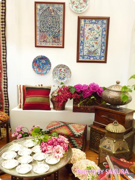 バラの香るトルコの家 5
