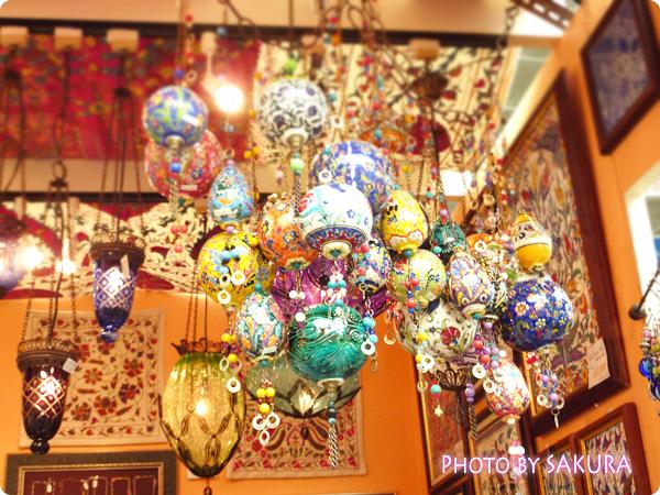 トルコの飾り玉