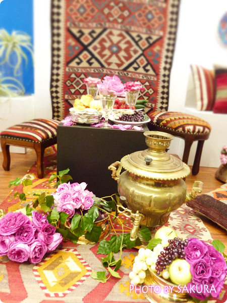 バラの香るトルコの家 4
