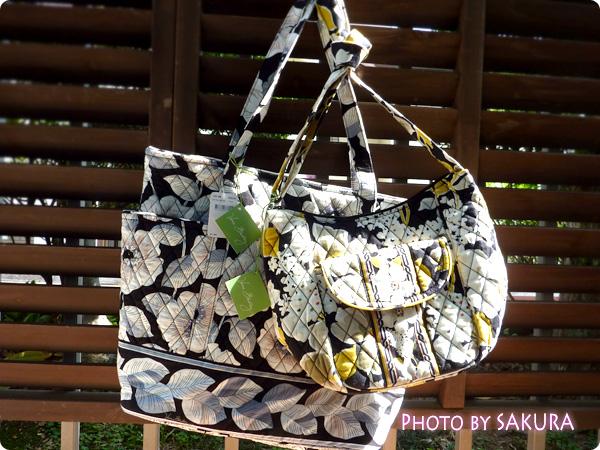 イオンで買ったVera Bradley(ヴェラ・ブラッドリー)のバッグ。ClareとGo Round Tote