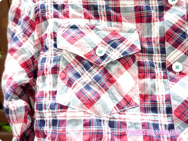 アーノルドパーマータイムレス(レディス) シャーリングチェックシャツ 胸ポケットアップ