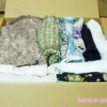 「宅配買取ブランディア」に買取してもらいたいバッグと洋服を送りました
