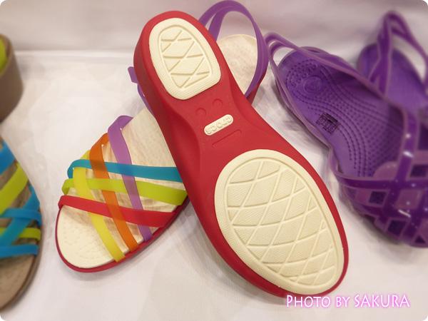 huarache mini wedge w(ワラチェ ミニ ウェッジ ウィメン) Multi / Geranium 靴底
