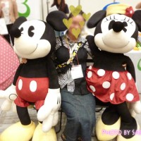 ベルメゾンネットのディズニーグッズのお店 ファンタジーショップ取り扱いのミッキーマウス・ミニーマウスの特大ぬいぐるみ