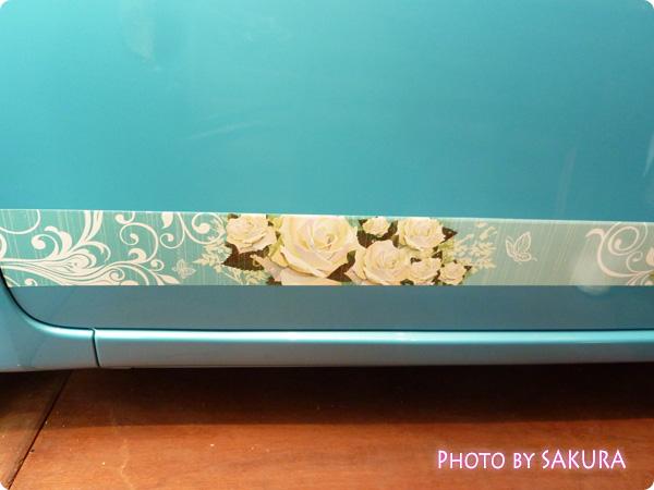 ホンダ「N-ONE G」国際バラとガーデングショウモデル サイドの装飾