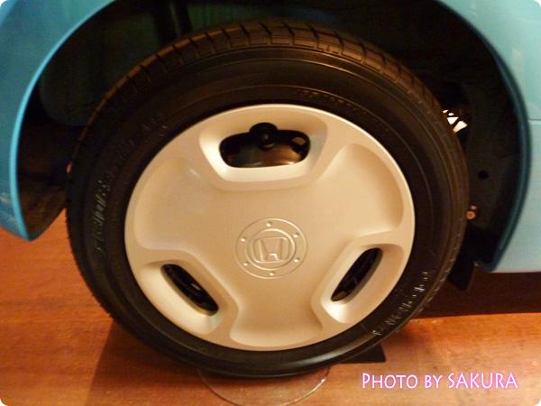 ホンダ「N-ONE G」国際バラとガーデングショウモデル タイヤ