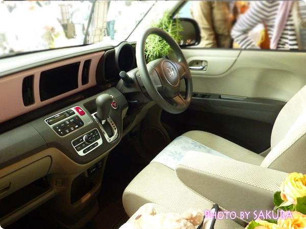ホンダ「N-ONE G」国際バラとガーデングショウモデル 内装(運転席)2