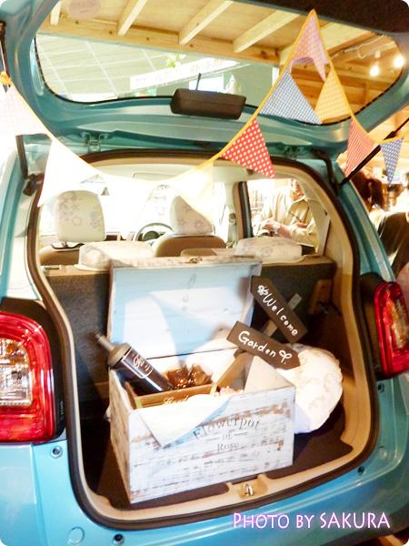 ホンダ「N-ONE G」国際バラとガーデングショウモデル トランク