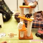 犬・猫の総合情報サイト「PEPPY(ペピイ)」めちゃくちゃ可愛い手のひらサイズ猫フィギュア、ミニチュアキャットタワー、見つけた!