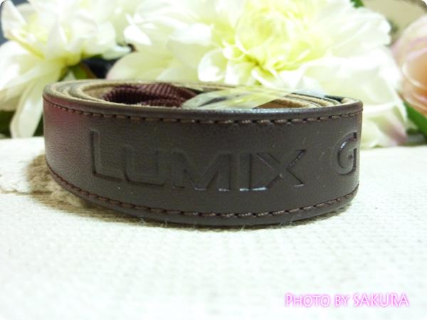 LUMIX DMC-GF5用カメラケース DMW-BCSK2 ブラウン ストラップ