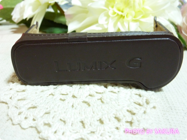 LUMIX DMC-GF5用カメラケース DMW-BCSK2 ブラウン ボディケース底