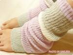 暑いからこそ冷え取りを!トゥシェで買った冷房対策も兼ねたレッグウオーマーや指先オープンシルク靴下