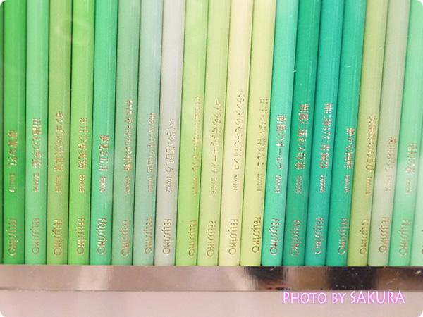 「500色の色えんぴつ」色の名前アップ4