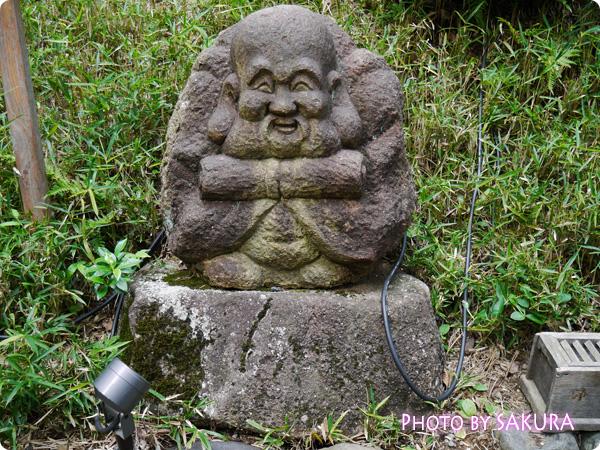 椿山荘の七福神三 寿老人