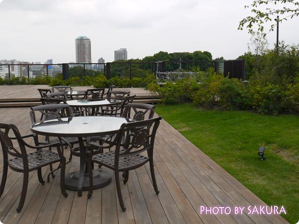 ホテル椿山荘東京 空中庭園