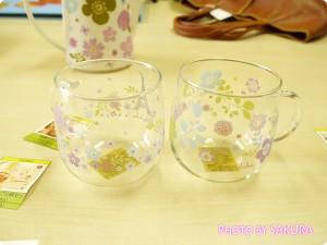 耐熱マグカップ2柄セット(mini labo)